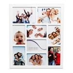 Cadre Multi Photo Gallery 9 Emplacements Blanc