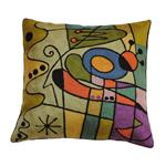 Click here to view Coussin Fait Main Kandinsky Carnaval Violet Zaida