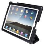 Click here to view Etui pour iPad Cuir Italien Noir de Byron & Brown