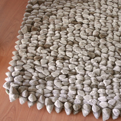 Tapis Chamois Pebble de Dreamweavers Taupe