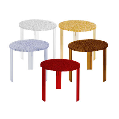 Large Table d'Appoint T-Table de Kartell