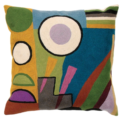 Coussin Zaida Kandinsky Abstract Monde 18""