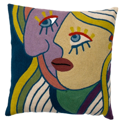 Coussin Zaida Picasso Visages 18""