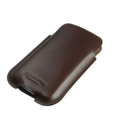Etui Luxueux iPhone Cuir Italien Byron & Brown